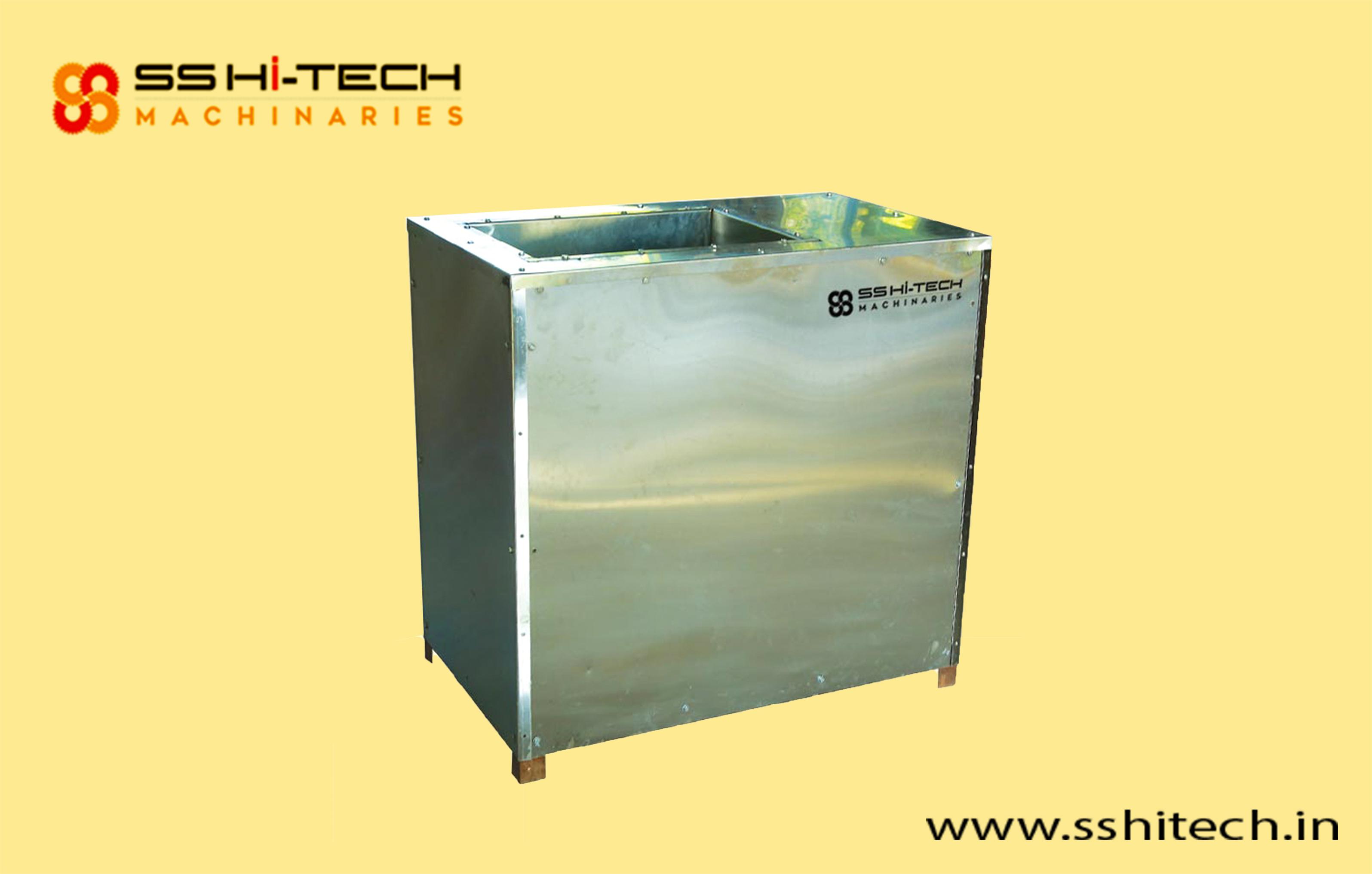 004 Vertical Flour Mixture With Extruder Machine